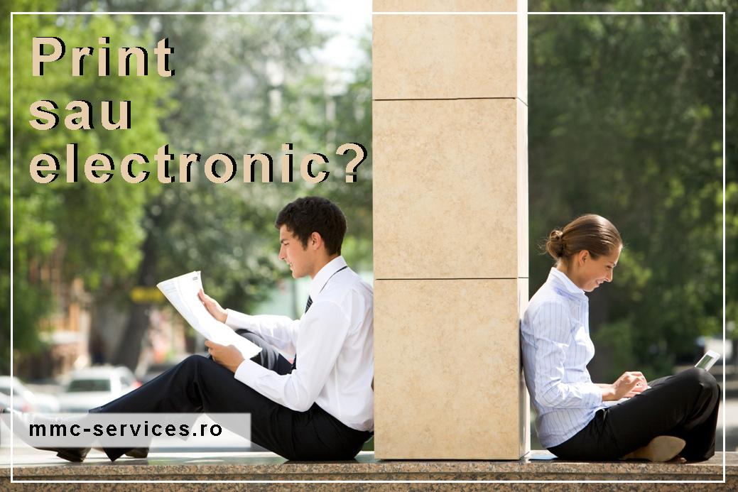 print sau electronic